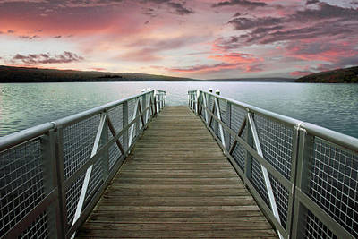Finger Lakes Photograph - Sunset At Stewart Park by Jessica Jenney