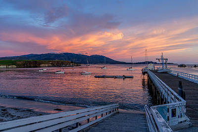Photograph - Sunset At Stillwater Cove by Derek Dean