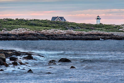 Photograph - Sunset At Straitsmouth Light by Thomas Gaitley
