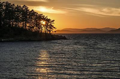 Photograph - Sunset At Sucia Island by NaturesPix