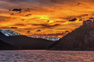 Photograph - Sunset At Summit Cove And Summerwood June 17 by Stephen Johnson