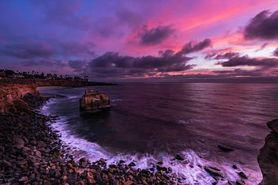 Photograph - Sunset At Sunset Cliffs by Scott Cunningham