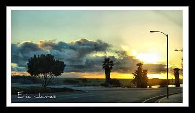 Eric Decker Photograph - Sunset At Sunset  by Eric Decker