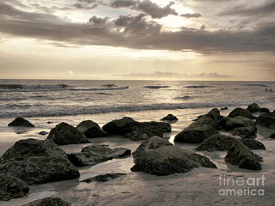 Photograph - Sunset At The Beach by Rose  Hill