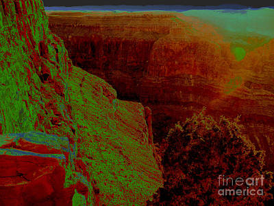 Photograph - Sunset At The Canyon by Angela L Walker