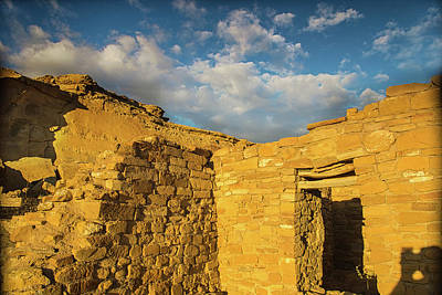 Photograph - Sunset At The Chaco Dwellings by Kunal Mehra