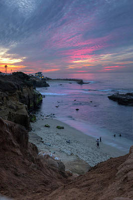 Photograph - Sunset At The Cove by Sue Cullumber