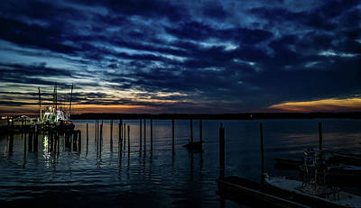 Photograph - Sunset At The Dock by Ant Pruitt