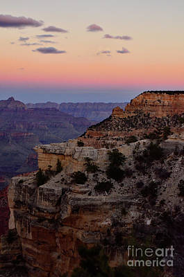 Photograph - Sunset At The Grand Canyon by Debby Pueschel