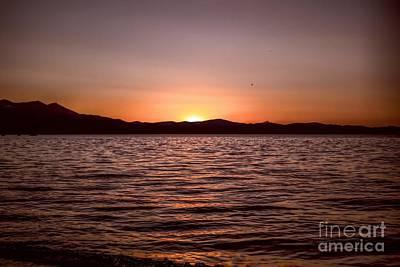 Photograph - Sunset At The Lake 2 by Joe Lach