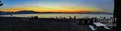 Photograph - Sunset At The Lake by Joe Lach