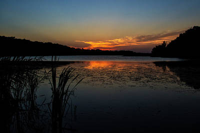 Photograph - Sunset At The Lake by Shelly Gunderson