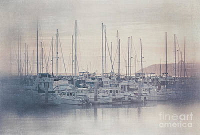 Photograph - Sunset At The Marina by Teresa Wilson