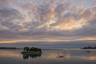 Photograph - Sunset At The Mouth Of The Smith River by Loree Johnson