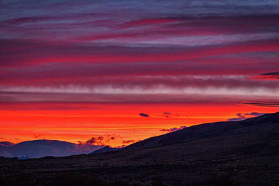 Photograph - Sunset At The Ranch #3 - Patagonia by Stuart Litoff