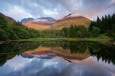 Photograph - Sunset At Torren Lochan by Stephen Taylor