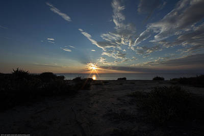 Photograph - Sunset At Torrey Pines by Jeremy McKay