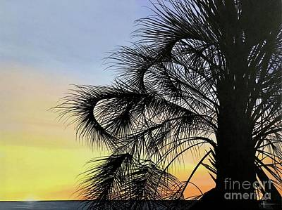 Painting - Sunset At Treasure Island by Hunter Jay