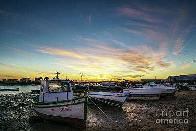 Photograph - Sunset At Trocadero Cadiz Spain by Pablo Avanzini