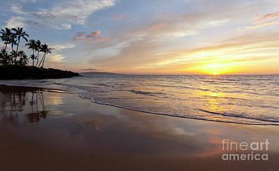 Photograph - Sunset At Wailea by David Olsen