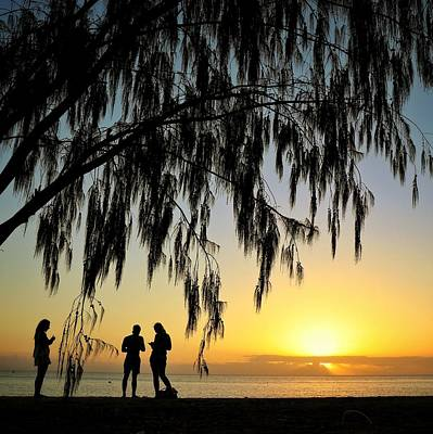 Photograph - Sunset At West Point On Magnetic Island by Keiran Lusk