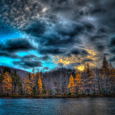 Photograph - Sunset At Woodcraft Camp by David Patterson