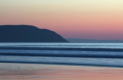 Photograph - Sunset At Woolacombe by Pete Hemington