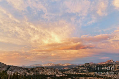 Photograph - Sunset At Yosemite by Sharon Seaward