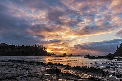 Photograph - Sunset Bay by Loree Johnson
