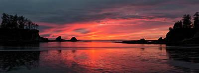Photograph - Sunset Bay Oregon by Loree Johnson