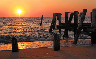 Photograph - Sunset Beach Cape May New Jersey by Carolyn Derstine