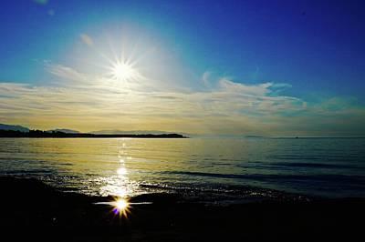Photograph - Sunset Beach Comber Beach 2 by Brian Sereda