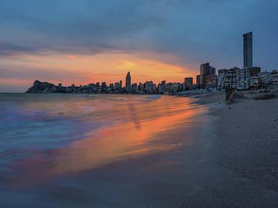 Wall Art - Photograph - Sunset Beach by David Rocaberti