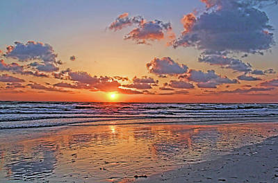 Photograph - Sunset Beach by HH Photography of Florida