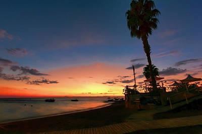 Photograph - Sunset Beach by Nadia Sanowar