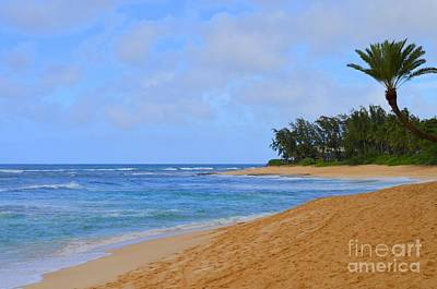 Photograph - Sunset Beach Oahu Hawaii -1 by Mary Deal