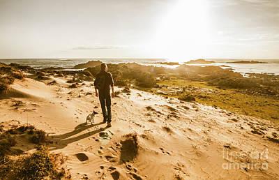 Photograph - Sunset Beach Stroll by Jorgo Photography - Wall Art Gallery