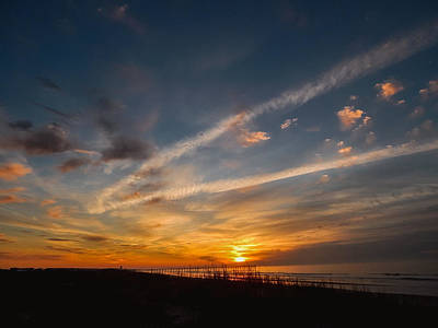 Gerald Monaco Photograph - Sunset Beach Sunrise by Gerald Monaco