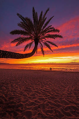 Photograph - Sunset Beach Sunset by James Roemmling