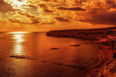 Photograph - Sunset Beauty - Cyprus  by Dimitris Vetsikas