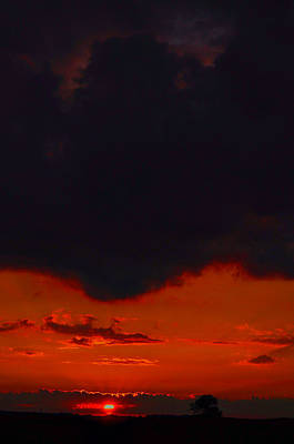 Photograph - Sunset Before The Rain by Emily Stauring