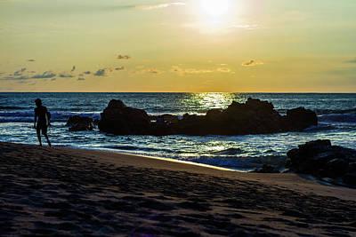Photograph - Sunset Begins by Joshua Tree