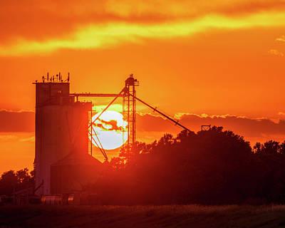 Photograph - Sunset Behind Albert by Rob Graham