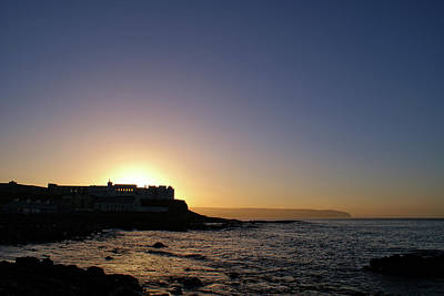 Photograph - Sunset Behind Dominican College, Portstewart by Colin Clarke