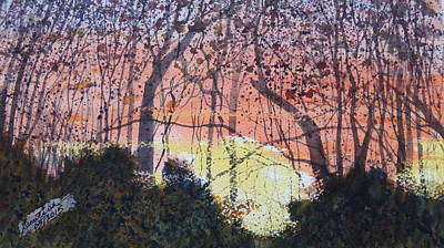 Painting - Sunset Between The Sourwoods by Joel Deutsch