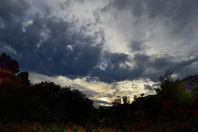 Photograph - Sunset Beyond Castle Peak by Glenn McCarthy Art and Photography