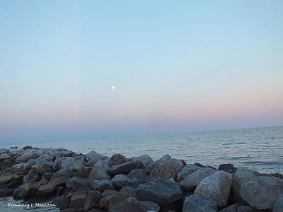 Photograph - Sunset Beyond The Rocks by Kimmary MacLean
