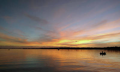 Photograph - Sunset Blaze by Steve Sperry