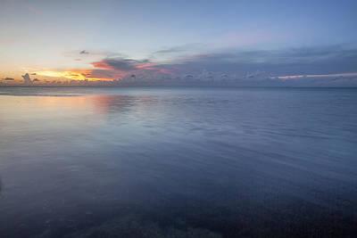 Photograph - Sunset Bleu by Al Hurley