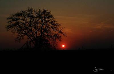 Sunset Bloody Sunset Art Print